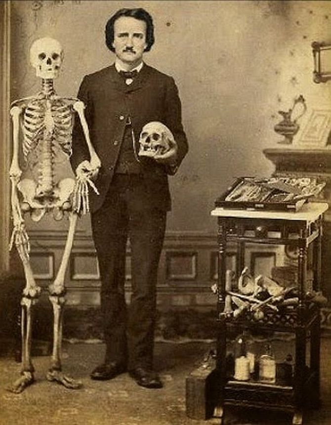 Photo of Edgar Allan Poe, writer