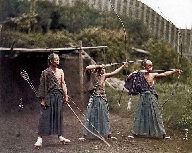 Samurai in training (1860)