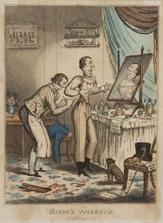 A dandy's toilette (1818)