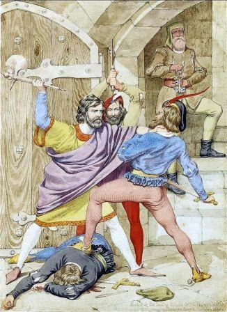 The Death of Richard II (1852) by Richard Dadd