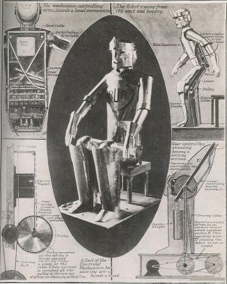 Image of Prediction for a robot by Karel Capek, 1920s